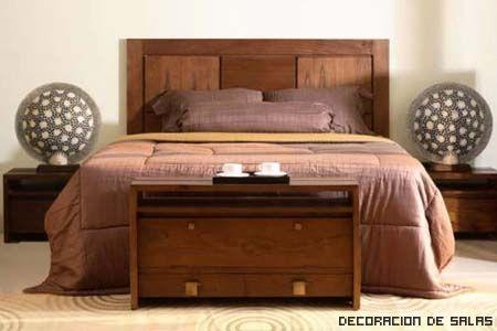 cabecero madera | Respaldo cama | Pinterest | Cabecero, Madera y Camas