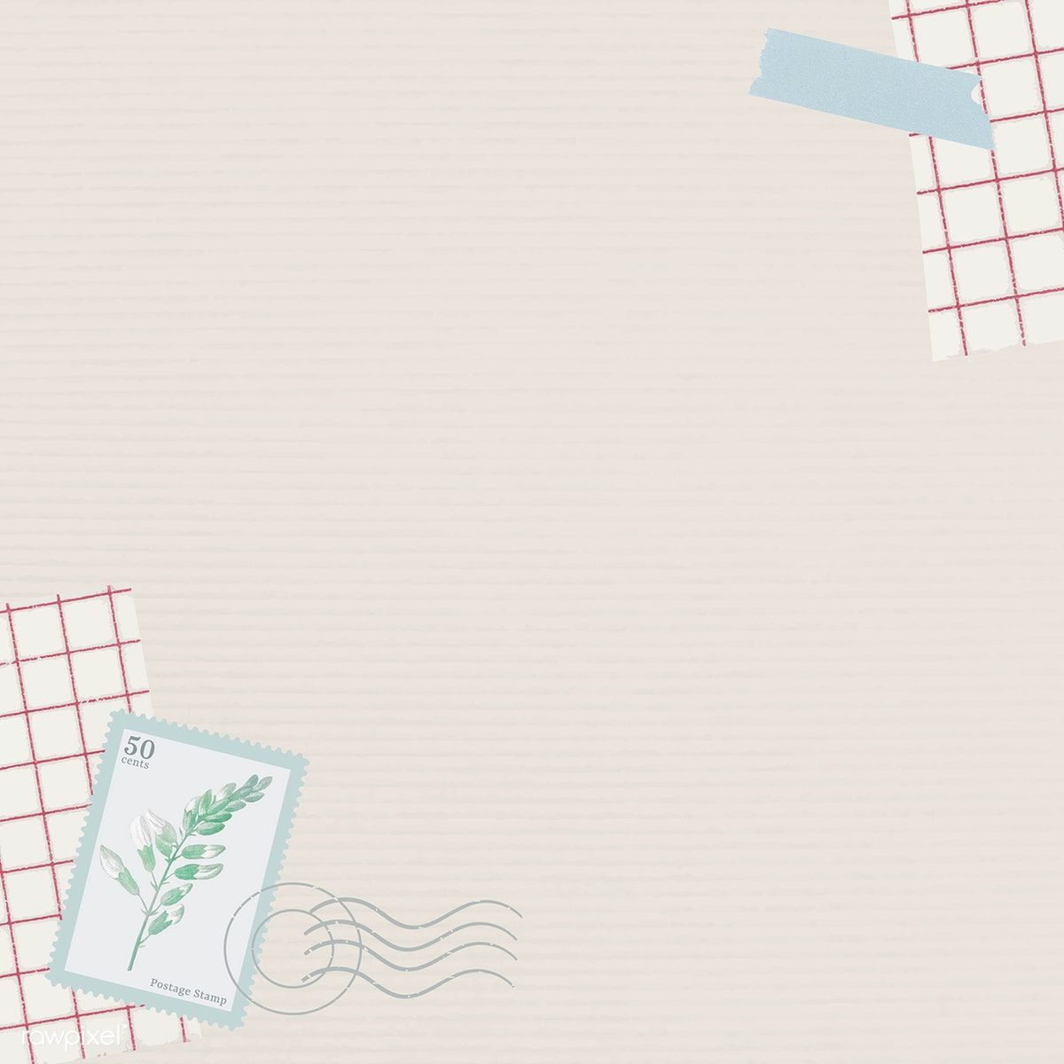 Download Premium Vector Of Leaf Stamp On Beige Background Vector 1215909 Beige Background Graphic Design Background Templates Black Paper Texture