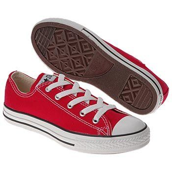 Converse ALL STAR OXFORD 3J236 Red 10.5 Medium « Shoe Adds for your Closet