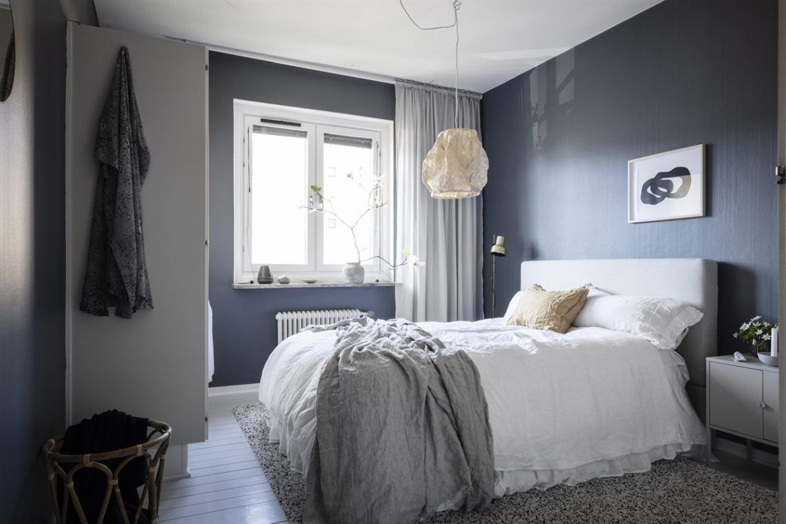 Home With Petrol Blue Walls Coco Lapine Design Blue W