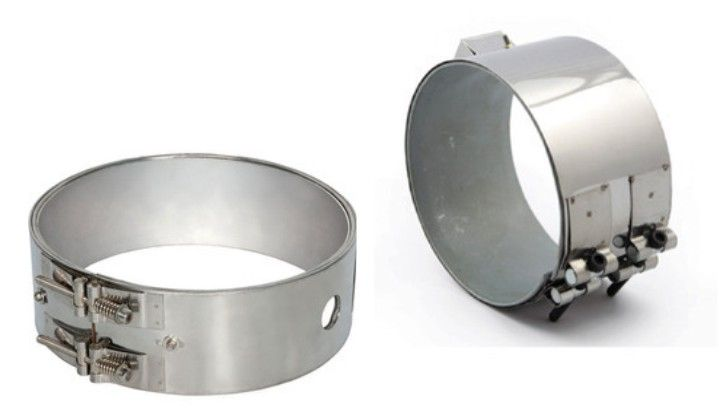 Mica Band Heaters Are Sheathed With Plated C R C A Brass Or Stainless Steel Sheets Heaters Are Pro Stainless Steel Sheet Plastic Raw Material Heating Element