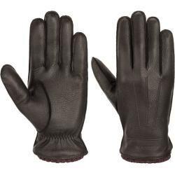 Stetson Deer Cashmere Leather Gloves Gants Gants Gants pour hommes  Stetson Deer Cashmere Leather Gloves Gants Gants Gants pour hommes