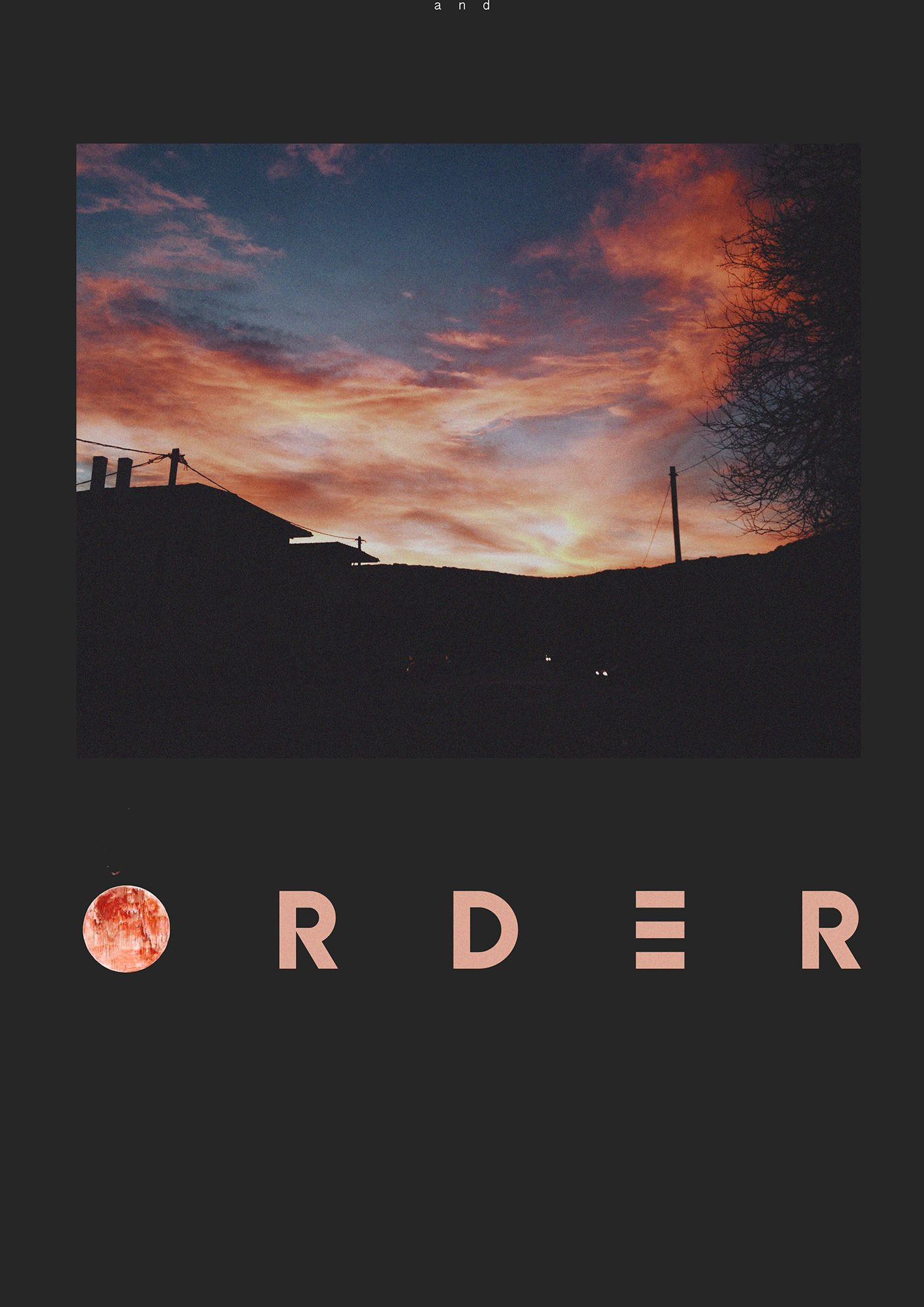Chaos order on behance sunset sky chaos order