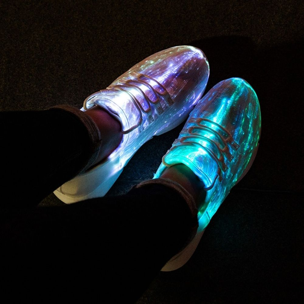 Glowing Shoes for girls, boys, men, women with USB Recharge  Price: $ 35.00 & FREE Shipping