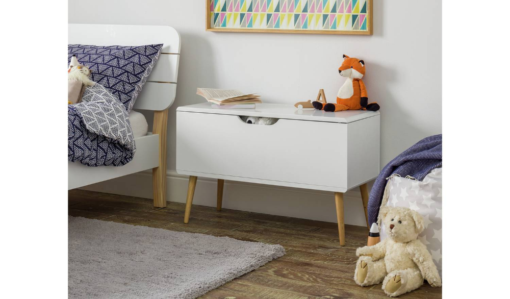 Argos Home Bodie White Toybox
