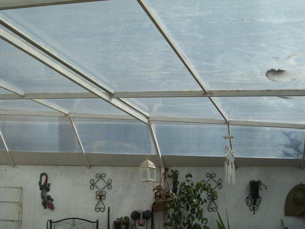 El techo de policarbonato me mata de calor decorar tu for Ideas para decorar tu patio