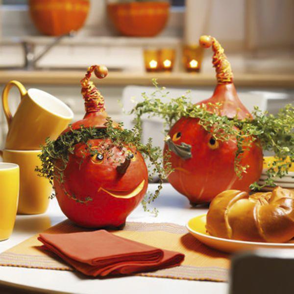 diy fall decorating ideas hokkaido pumpkins lemon thyme hair - Fall Pumpkin Decorations