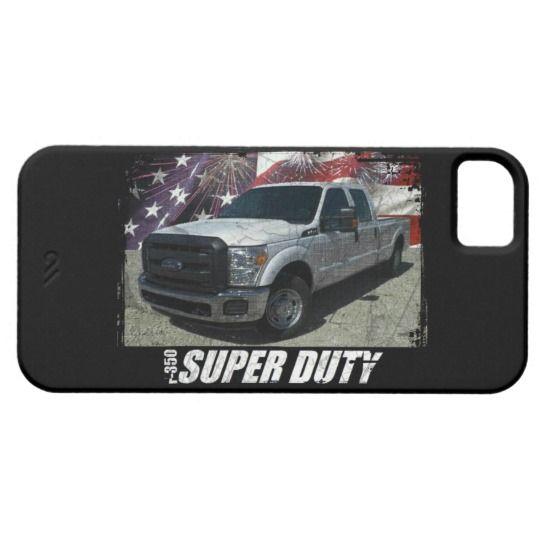 2013 F-350 Super Duty SuperCrew XLT Long Bed iPhone SE/5/5s Case