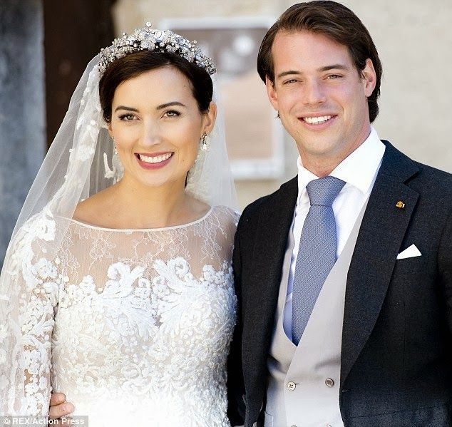 Los Príncipes Felix y Claire de Luxemburgo