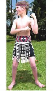 Simple The costume features a boy us style short piupiu u the flax skirt worn during Kapa Haka