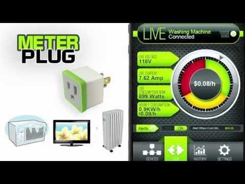 Insert Coin MeterPlug estimates electricity costs per