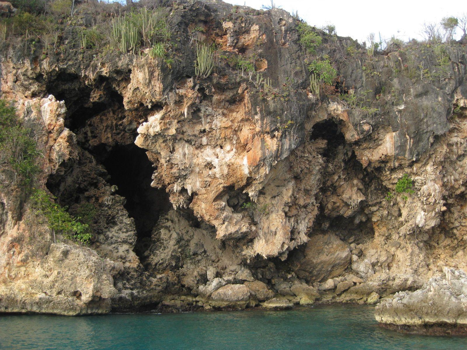 Fountain Cavern National Park Shoal Bay East Anguilla