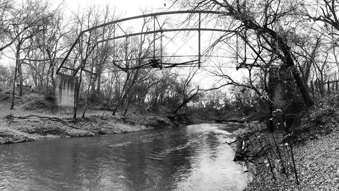 Woke up with an urge to go explore giant haunting bridges. I then went proceeded to go do that thing. Freedom is nice.