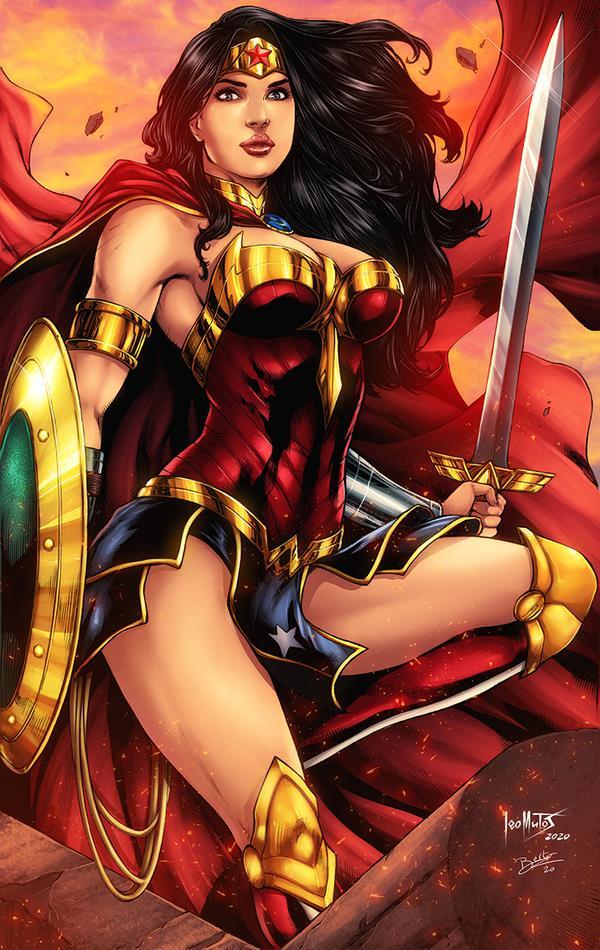Wonder Woman By Diabolumberto On Deviantart Wonder Woman Dc Comics Girls Dc Comics Artwork