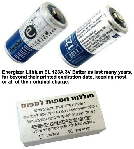 Energizer E2 El123a 3 Volt Lithium Battery Usa Short Dated In Original Company Sealed Pack Energizer Lithium Battery The Originals
