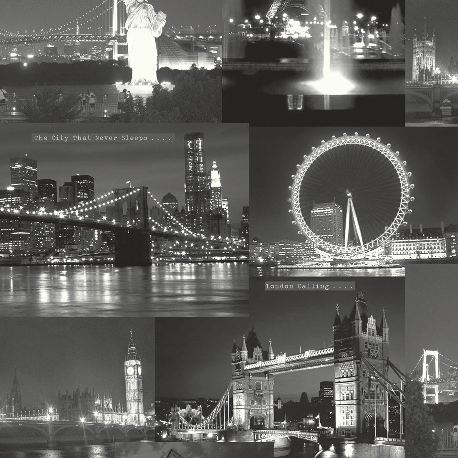Black And White London Wallpapers Wallpapers