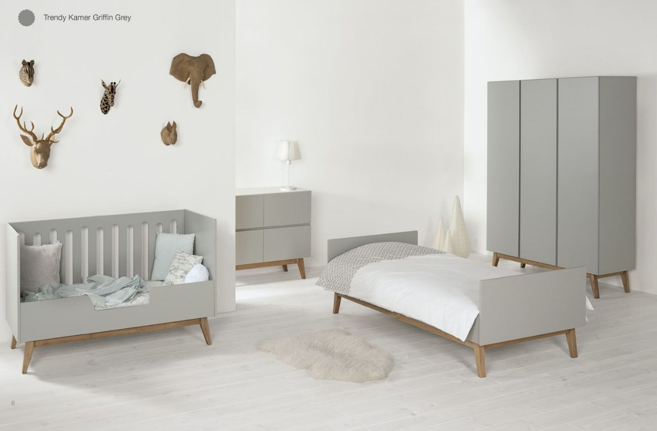 Quax trendy nursery griffin grey baby room babykamer chambre