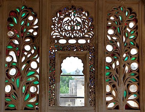 Stone window at udaipur palace rajasthan magic pinterest stone window at udaipur palace coloured glassdoor planetlyrics Image collections