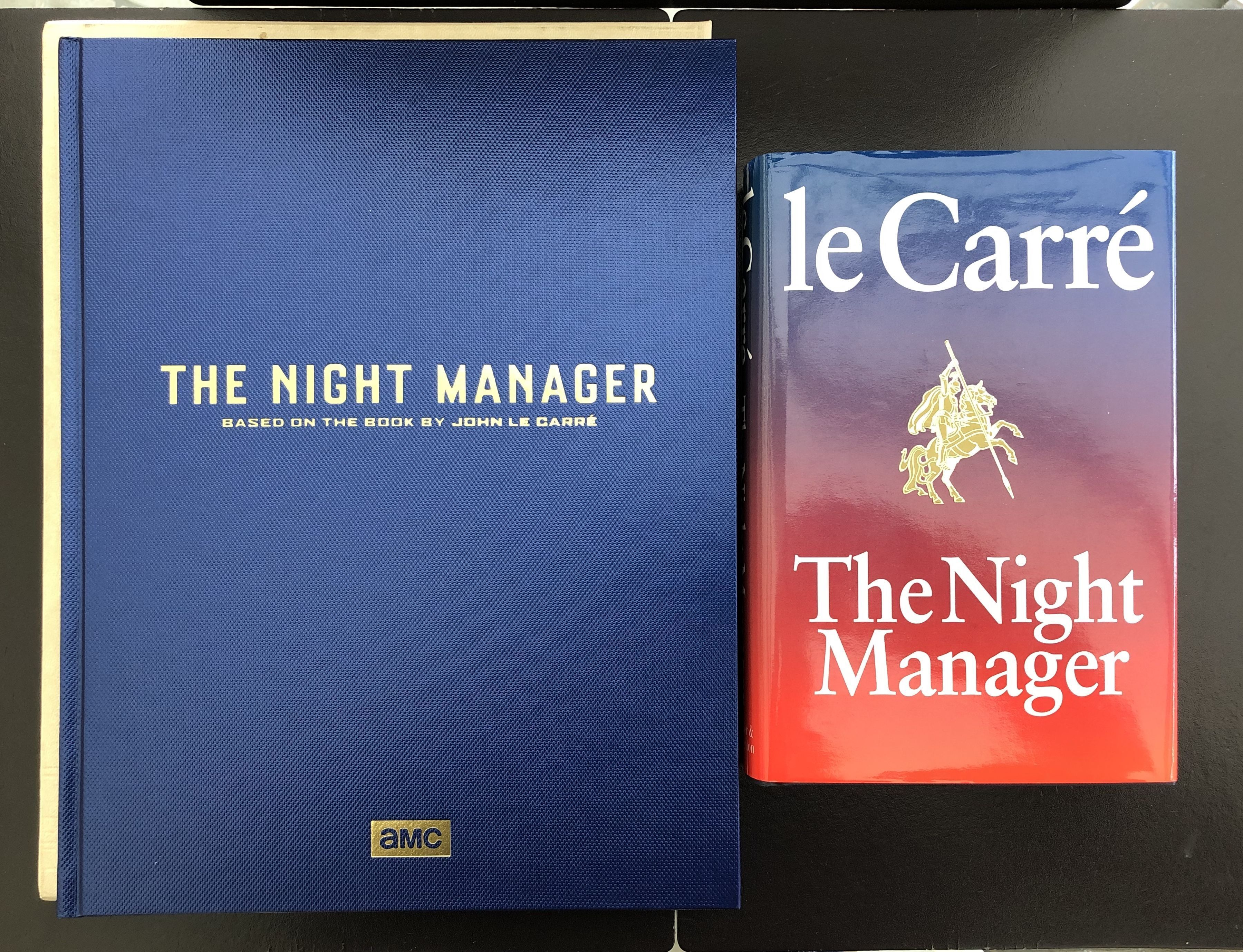 The Night Manager Signed By The Author With The Very Scarce