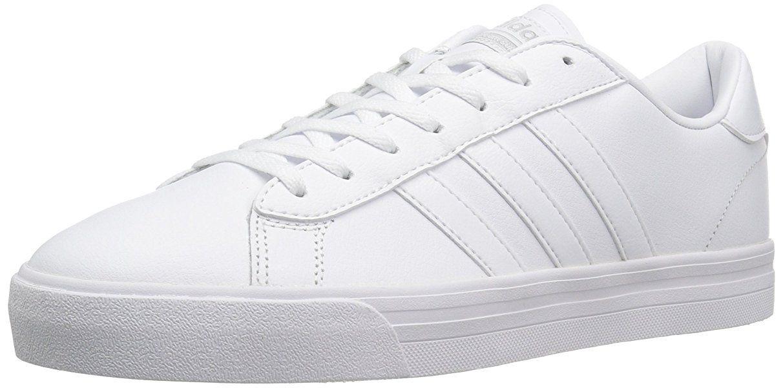 adidas neo uomini cloudfoam super quotidianamente le scarpe da ginnastica, bianco