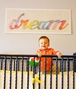 Nursery decor idea diy string art string art diy string art and nursery decor idea diy string art solutioingenieria Image collections