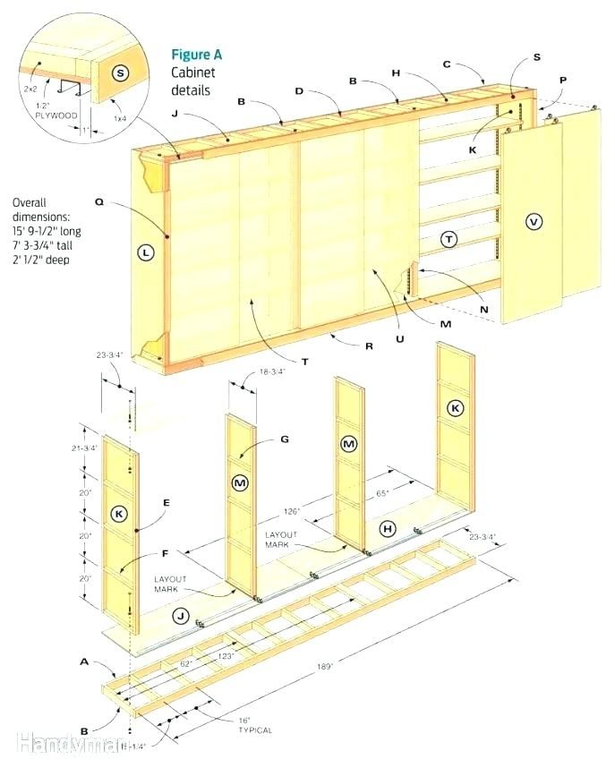 Storage Cabinet Plan Garage Storage Plans Garage Storage ...