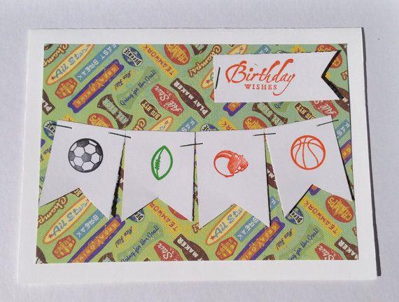 Handmade Paper Birthday Greeting Card by Scrapbooker429 on Etsy, $3.75 https://www.etsy.com/listing/151831365/handmade-paper-birthday-greeting-card?ref=shop_home_active_10
