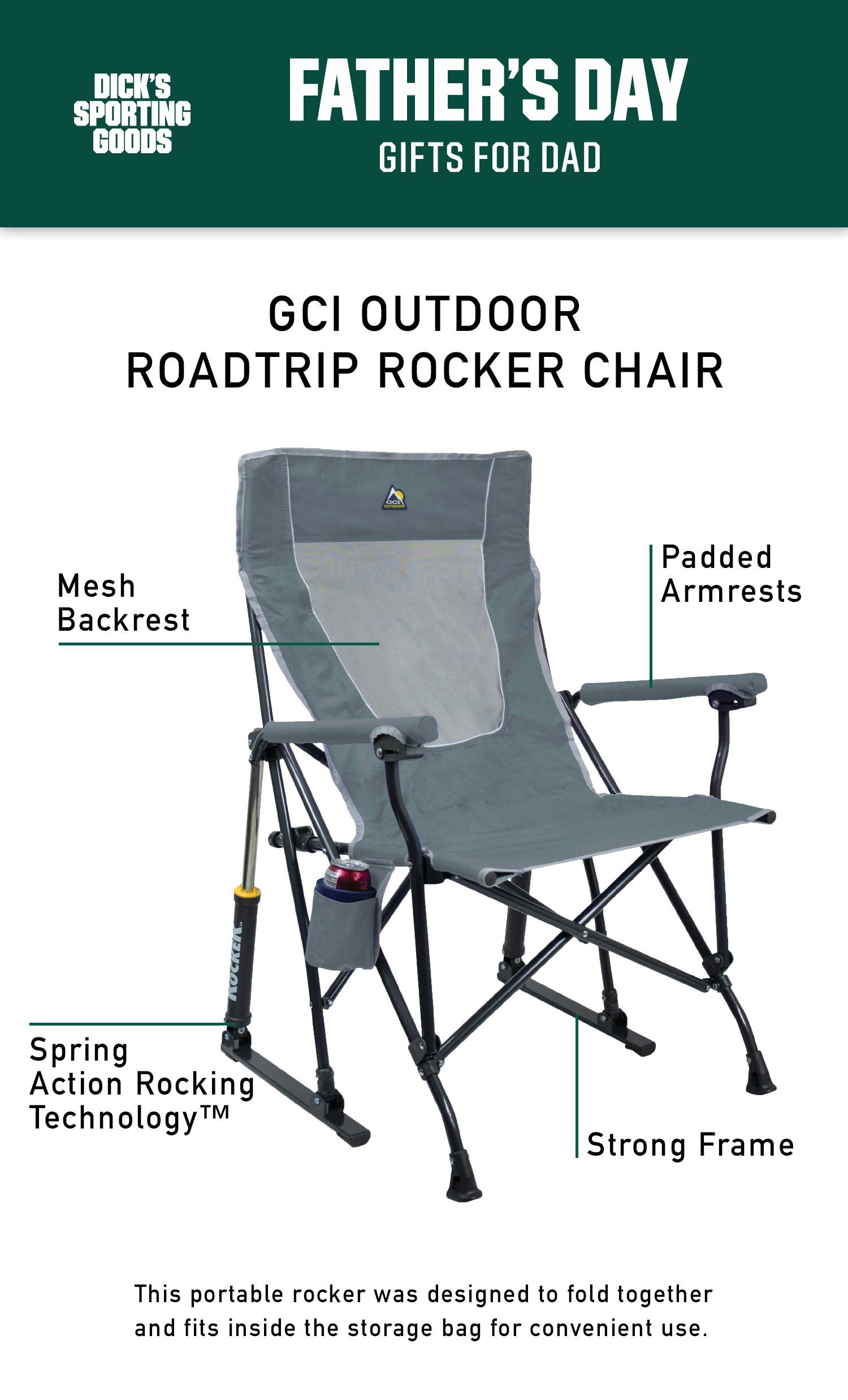 The Gci Outdoor Chair Is A Great Gift For Dad This Year For Father S Day This Gift Can Be Used For Outdoor Activities Lik Outdoor Rocker Chairs Best Dad Gifts