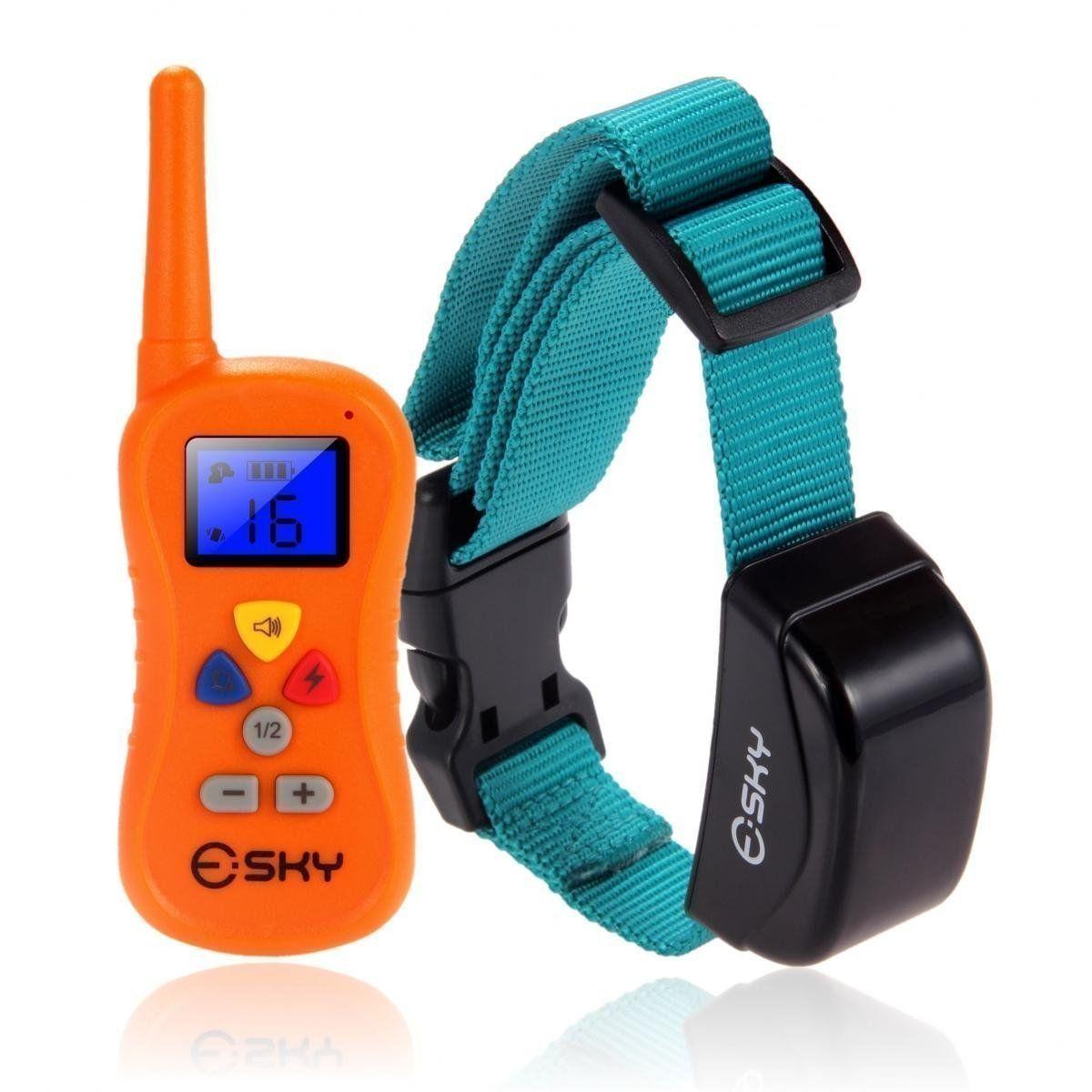 Esky Dog Shock Collar 330 Yards Remote Training Collar