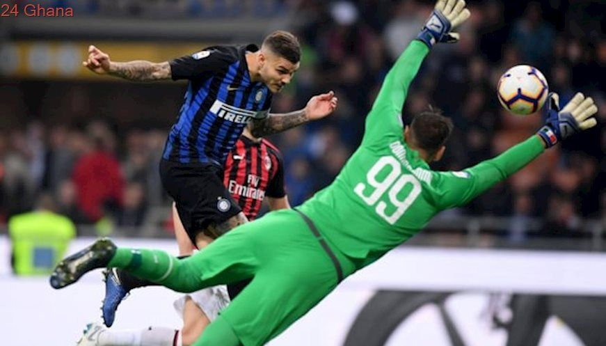 Icardi nets late winner in Milan derby San siro stadium