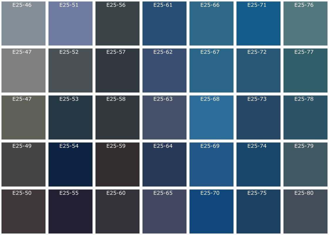Osez lassociation du jaune et du gris. Peinture Nuance De Gris Bleu Sema
