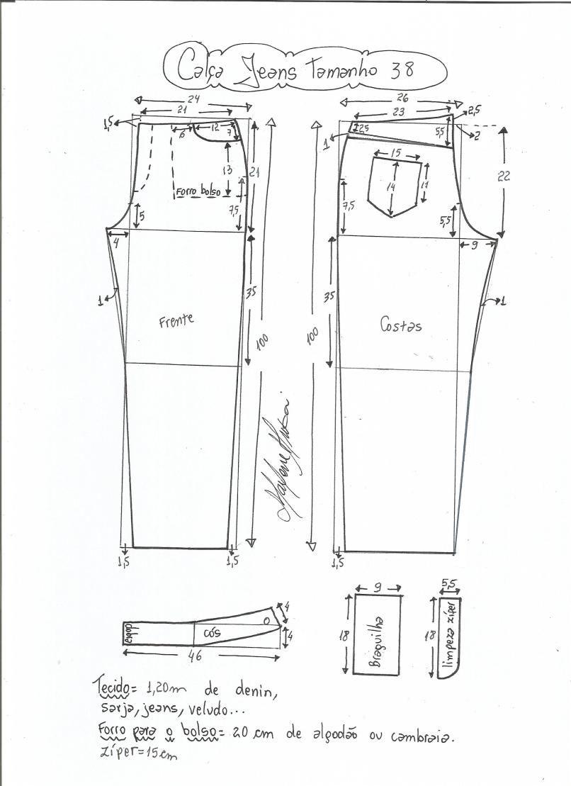 jeans - cintura media-38 | Diseño | Pinterest | Cintura, Medias y Jeans