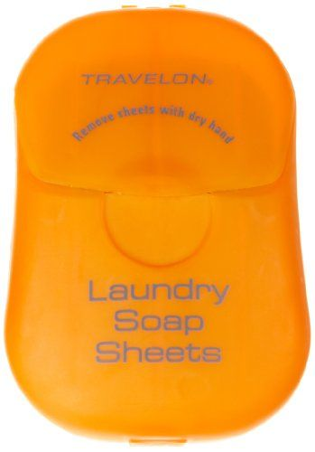Travel Laundry Soap Non Liquid Sheets That Dissolve In Water