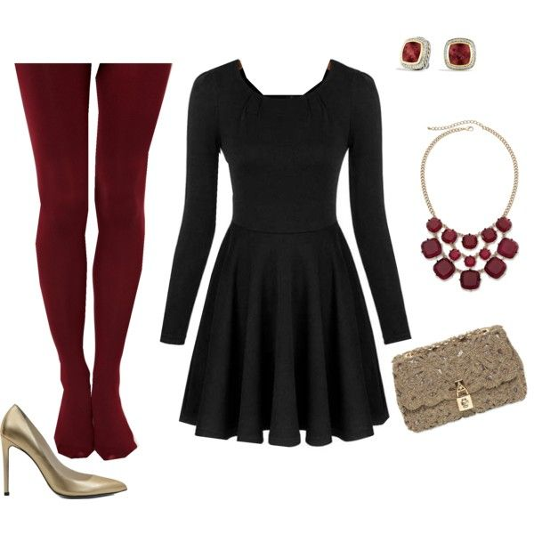 Winter Dinner Party Outfit