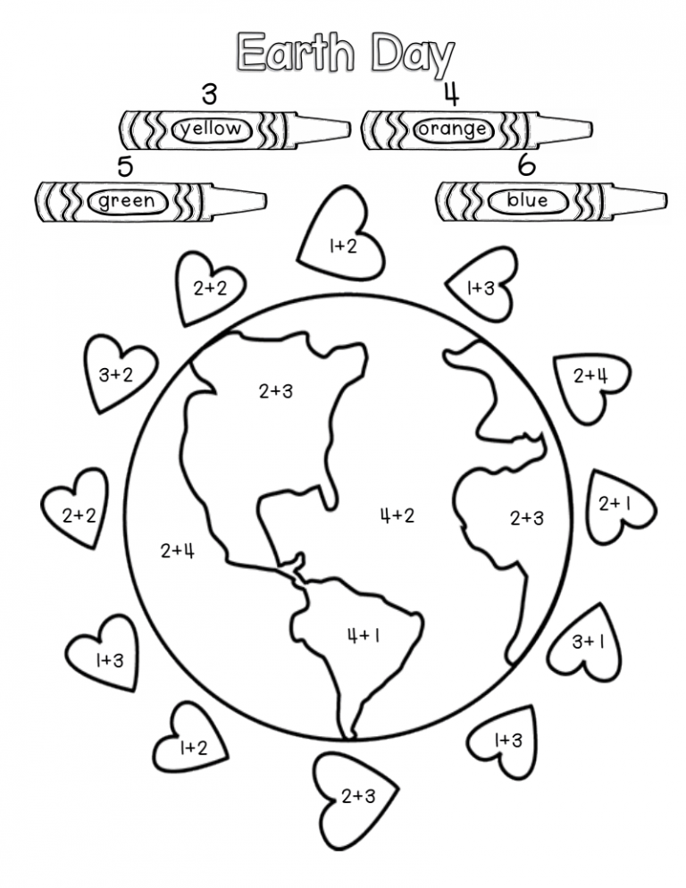 Earth Day Worksheets Best Coloring Pages For Kids Earth Day Worksheets Earth Day Activities Earth Day