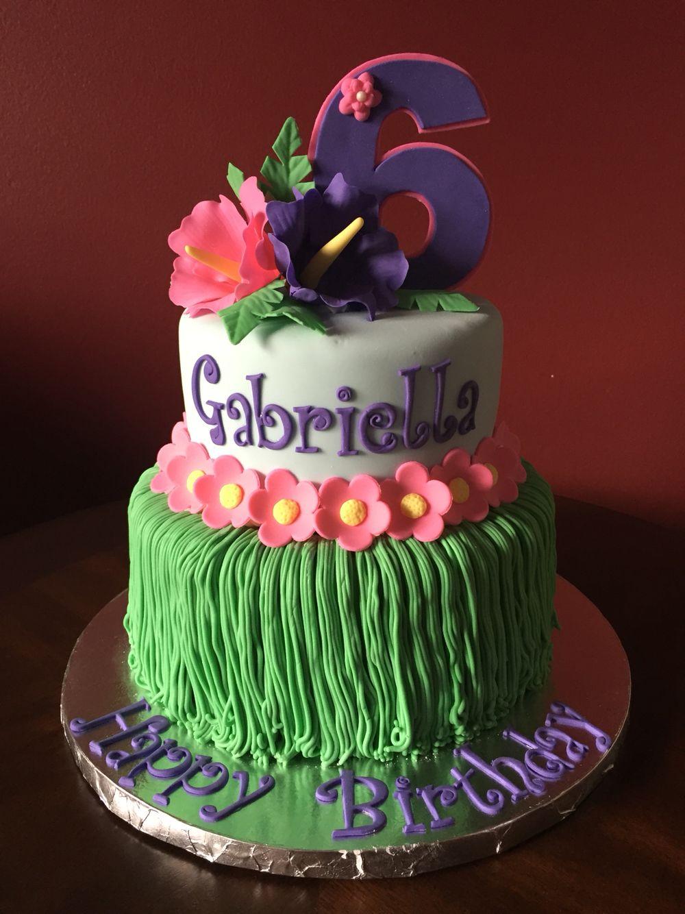 American Girl Doll Kanani Hawaiian Birthday Cake Pinteres
