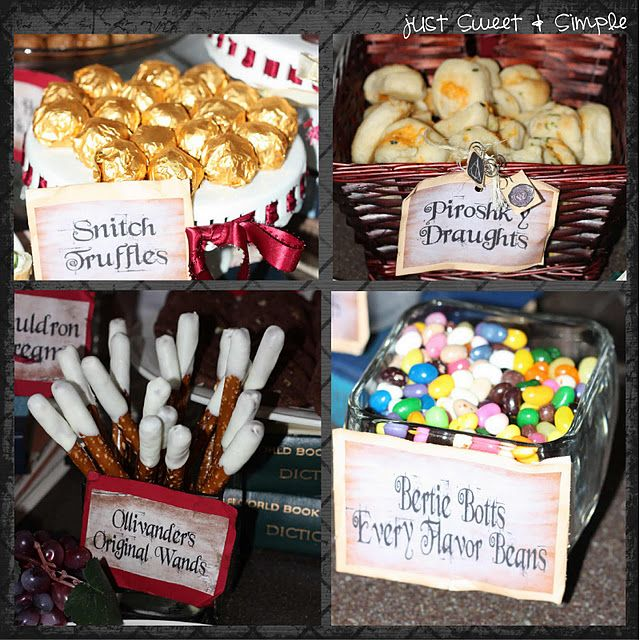 Cute Food Ideas For A Harry Potter Party You Could Put Wings On The Snitches