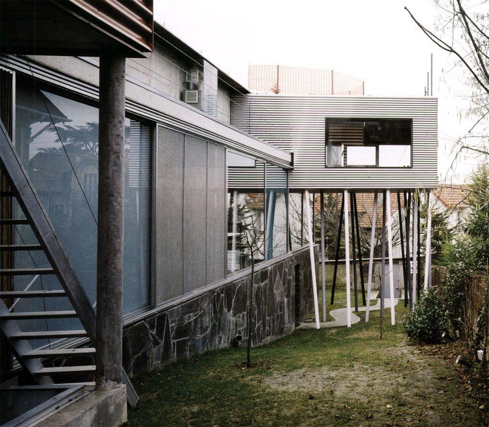 Rem koolhaas villa dall ava paris france 1991 atlas of - Explore Projects And More