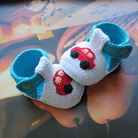 Crochet Baby Shoescrochet Boys Shoescrochet Girls Shoescrochet