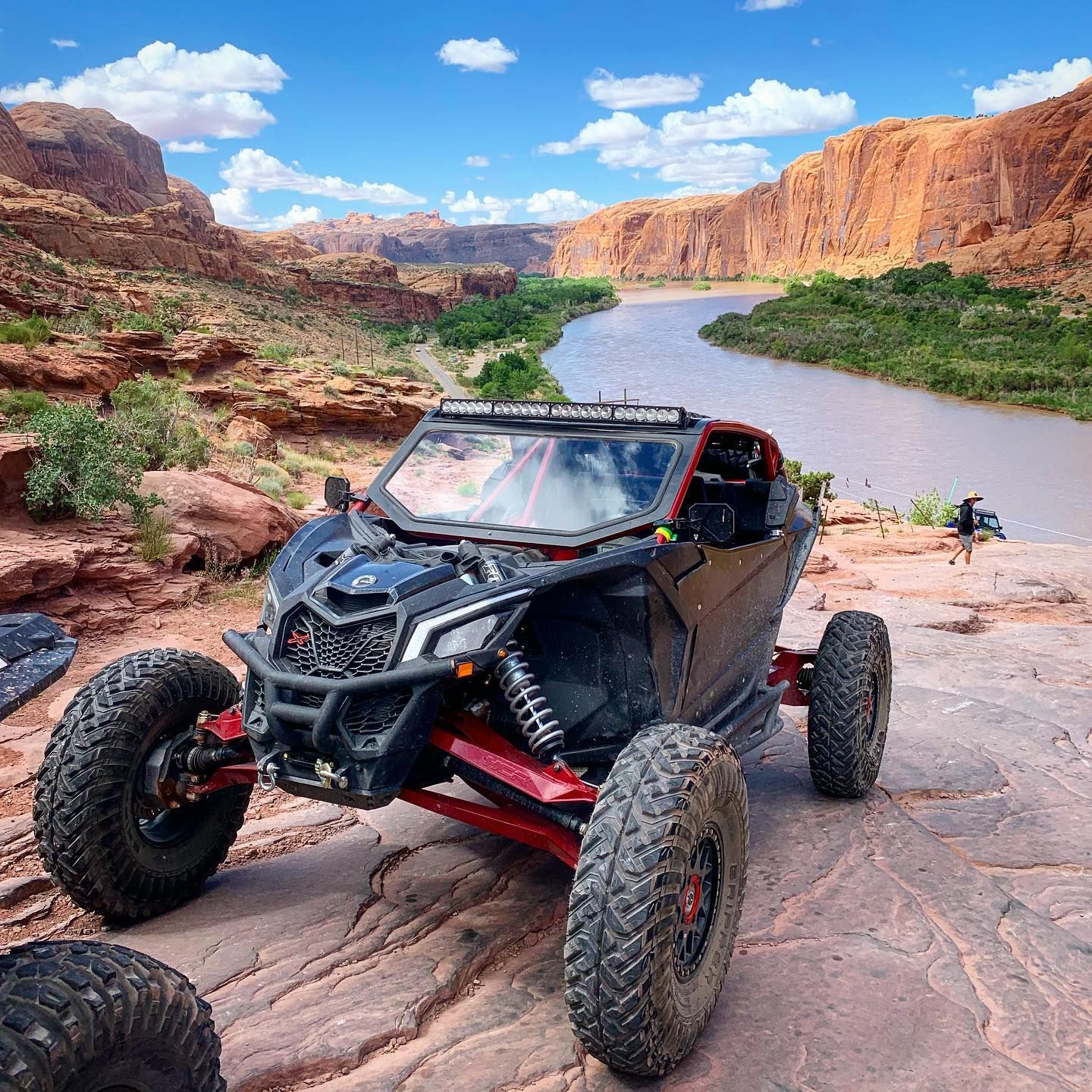 Can Am Maverick X3 Winch Ready Front Bumper Can Am Mudding Rzr Turbo