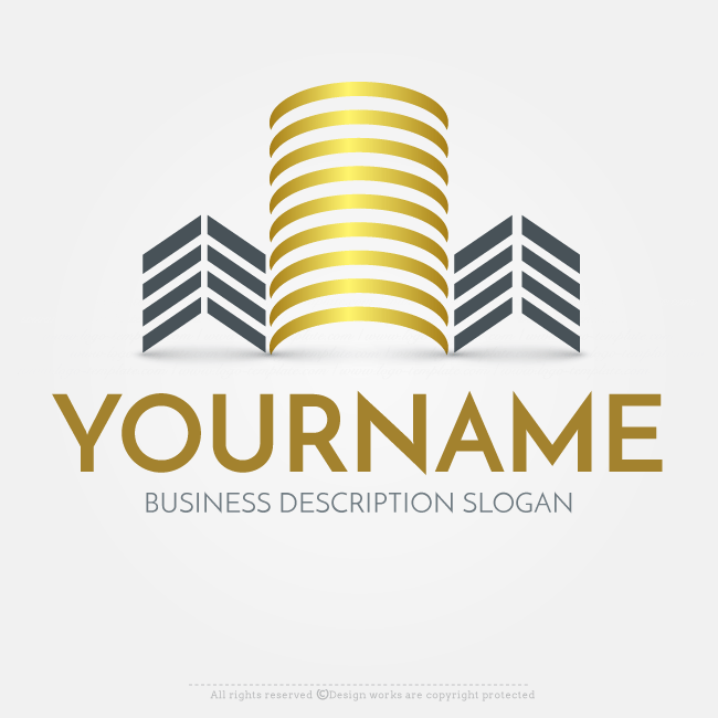 Online Free Logo Maker - Abstract Real Estate logo design | The Best ...