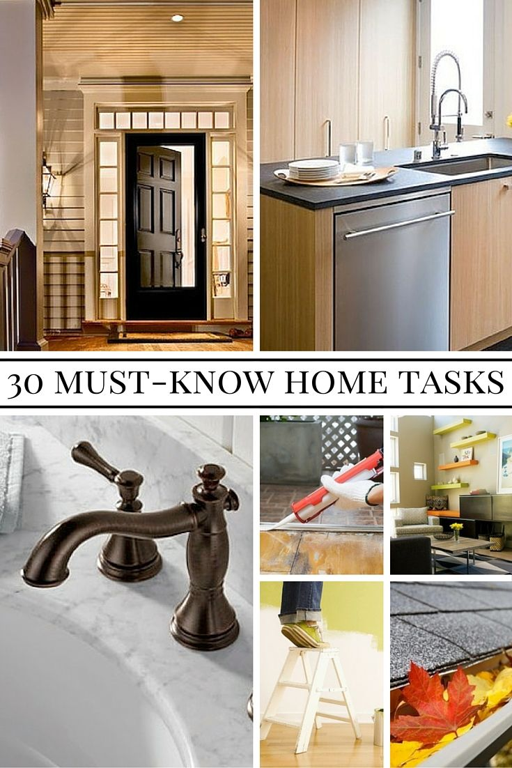 30 Things Every Homeowner Should Know How To Do Diy Home Repair