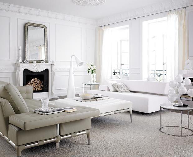 Wunderbar Wohnzimmer Grau Weiß Gestalten U2013 Dumss.com | Design Products, Moldings And  Architecture Design