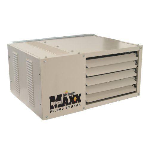 Mr Heater Natural Gas Unit Heater 50 000 Btu Hr Mhu50ng Garage Heater Natural Gas Garage Heater Shop Heater