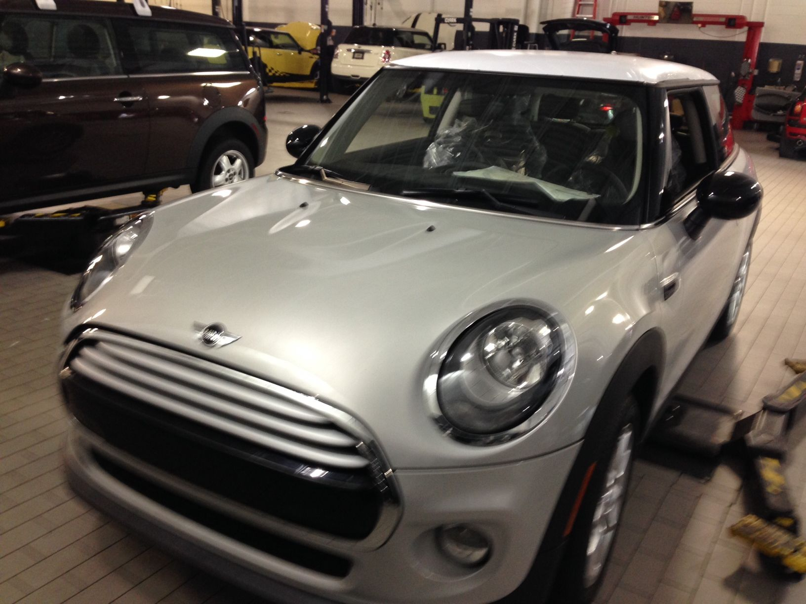 """The all-new MINI is here at Orlando MINI. Come and test drive it today! Mention """"Pinterest"""" and schedule a test drive by using the contact form on our website -> http://www.iwantamini.com/ContactUsForm #OrlandoMINI #newMINI #F56 #MINICooper #Orlando #MINI"""