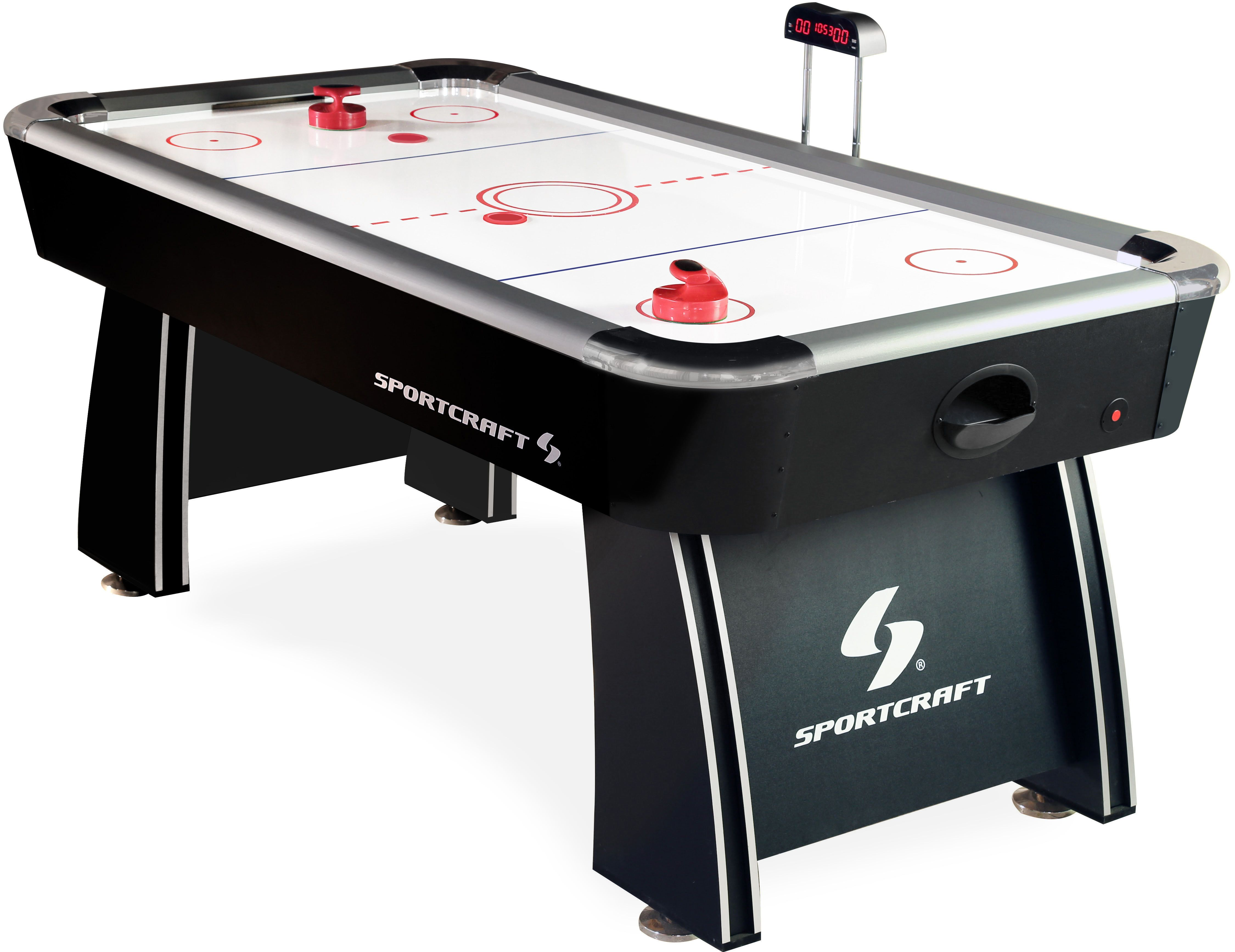 Sportcraft 72 Inch Air Powered Hockey Table With Pop Up Scorer