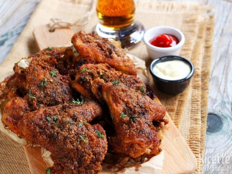 Photo of Baked chicken wings