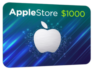 Get The 1000 Apple Store Gift Card Apple Store Gift Card Apple Gift Card Itunes Gift Cards