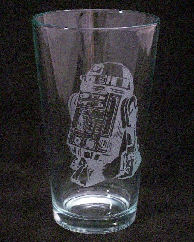 C-3PO Etched Beer Mug Star Wars