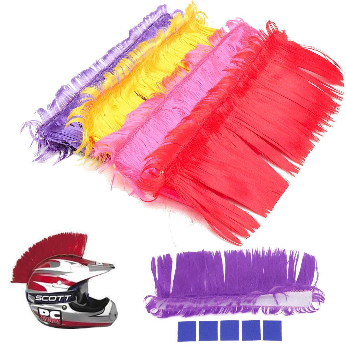 Helmet mohawk hair punk hair for motorcycle helmets ski snowboard